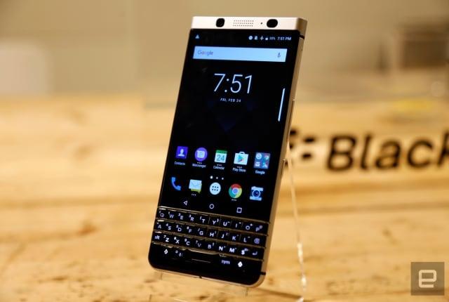 BlackBerry 的「Mercury」鍵盤機以 KEYone 之名正式登場