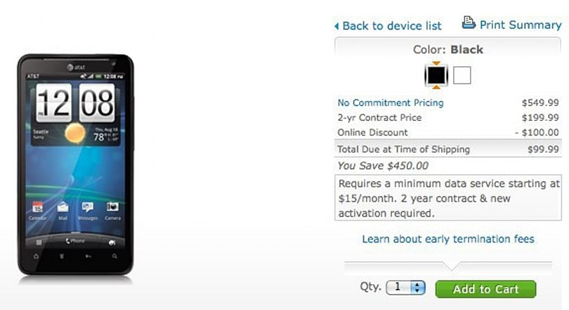 HTC Vivid and Samsung Galaxy S II Skyrocket go on sale, lead AT&T's march on LTE