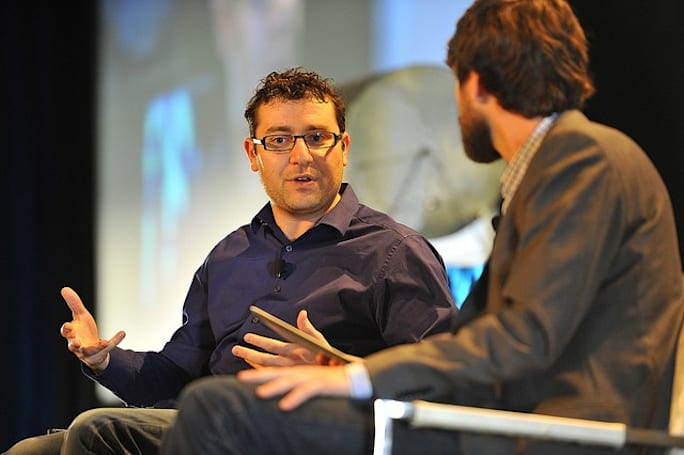 Nest's Matt Rogers backstage at Expand (video)