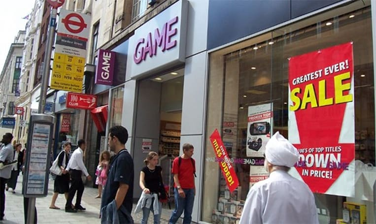 GAME warning customers about missing DLC in used games