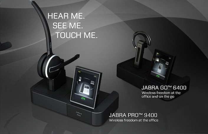 Jabra debuts six touchscreen-paired headsets designed for Microsoft Lync