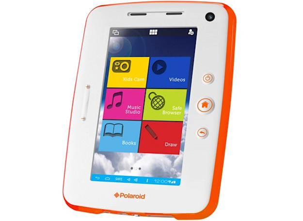 Polaroid Kids Tablet 2 comes loaded with apps from Cartoon Network, Disney and Marvel