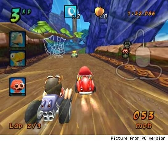 Mario Kart won't be the only kart racing game for the Wii