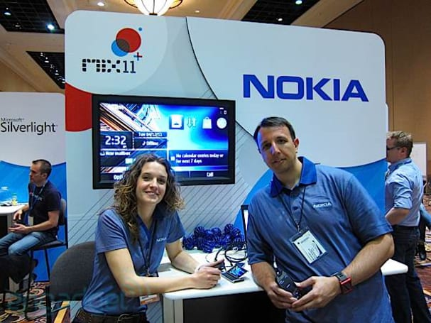 Caption contest: Nokia stand at MIX 11