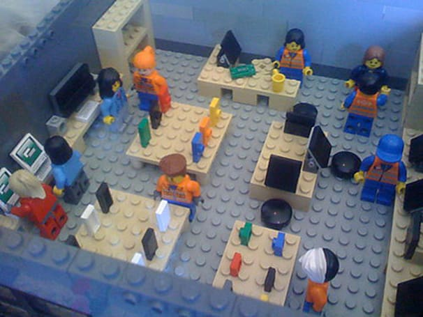 The Lego Apple Store