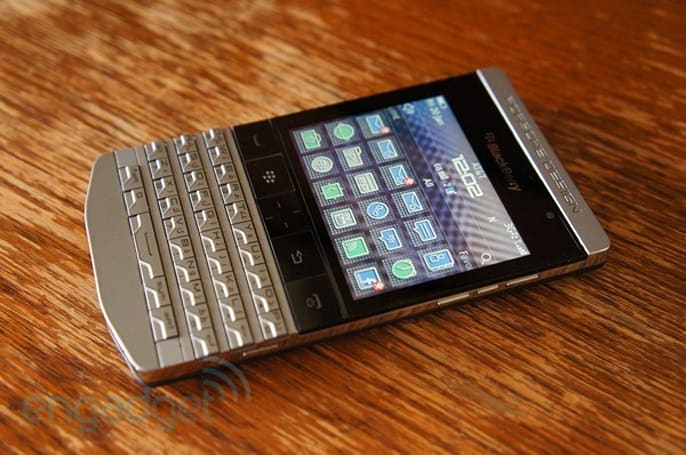 Porsche Design P'9981 BlackBerry screeches into Canada