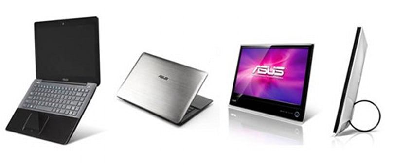 ASUS trickles out UX30 laptop, MS Series display