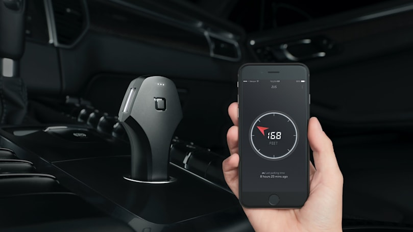 Meet Zus, the smart charger that can help find your car
