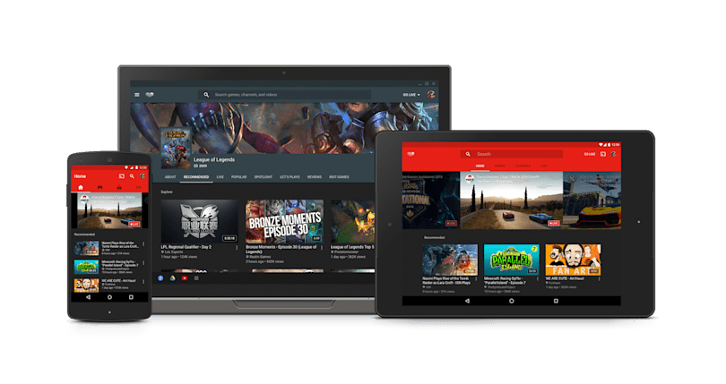 YouTube Gaming app hits Canada and 3 more countries today