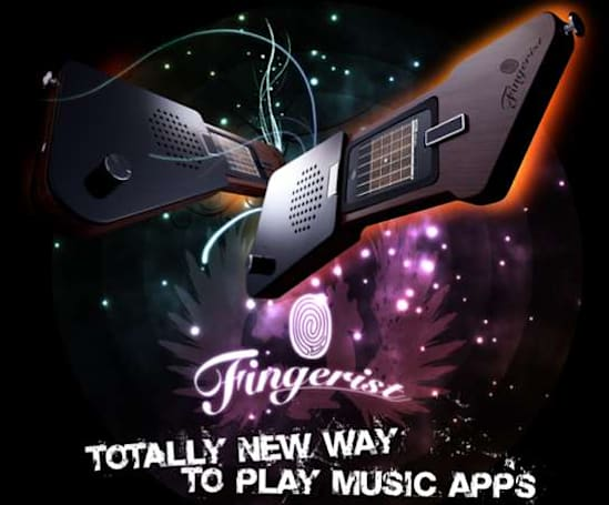 The Fingerist turns your iPhone into an iKeytar, available now