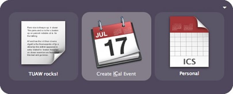 How To: Add a new iCal event from Quicksilver