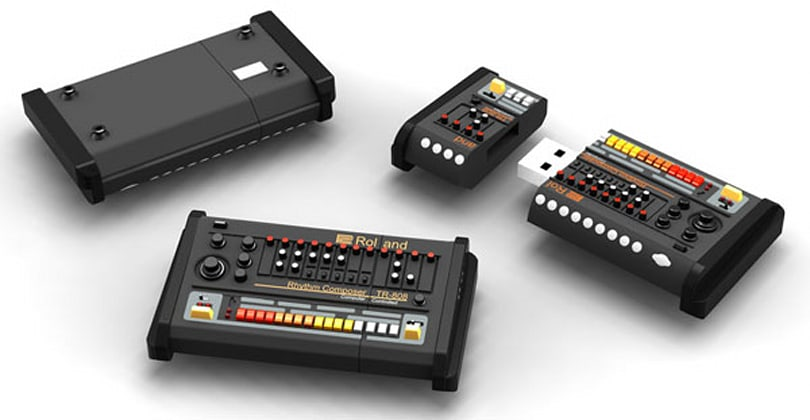 Roland TR-808 flash drive takes synth style, leaves music to the pros (video)