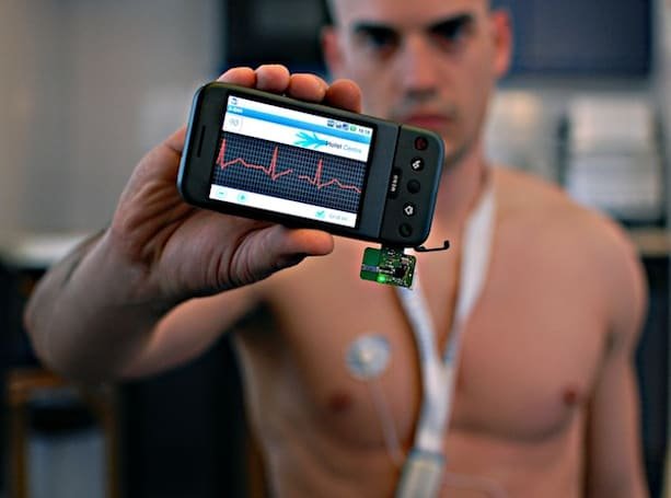 Wireless body area network allows your body to send status updates to your cellphone