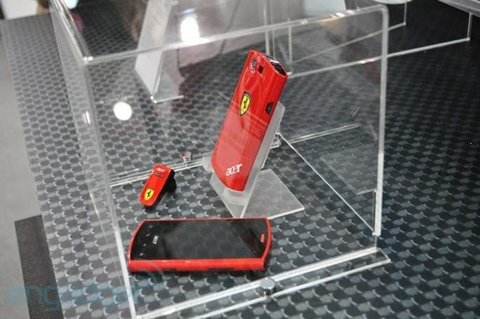 Acer Liquid E Ferrari Special Edition revs up Android 2.1