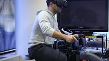 The future of fitness might be a VR-friendly exercise bike