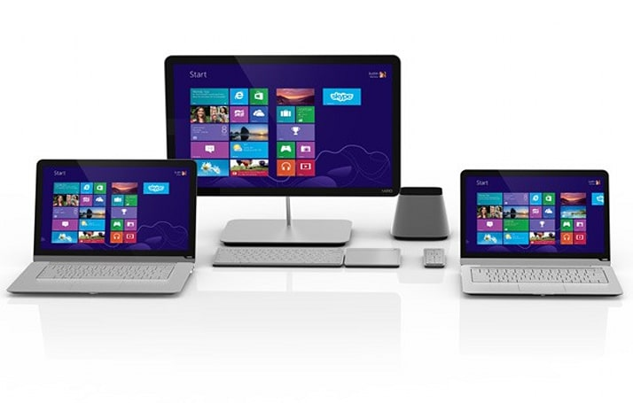 Vizio preps for Windows 8: all-in-one PCs get touchscreens, notebooks get 'enhanced' touchpads