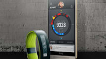 HTC takes aim at Fitbit and Jawbone with the Grip exercise tracker