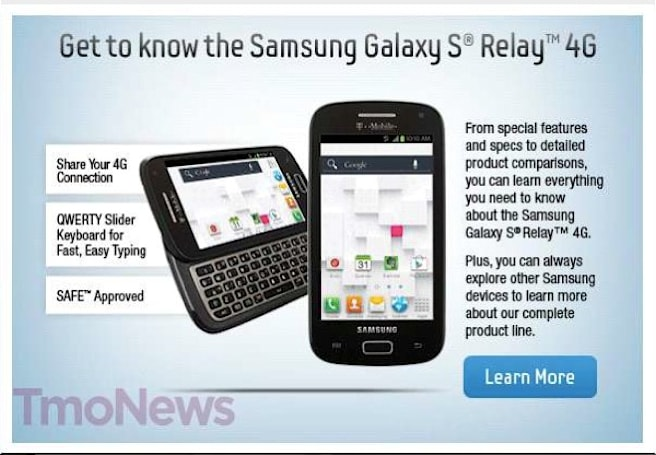 Samsung Galaxy S Blaze Q may be renamed to equally awkward Galaxy S Relay 4G (update: image)