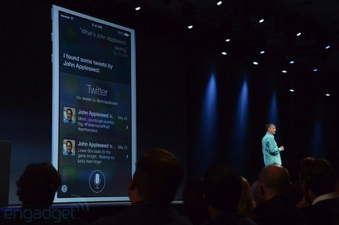Siri for iOS 7 updated with Twitter, Wikipedia and Bing integration