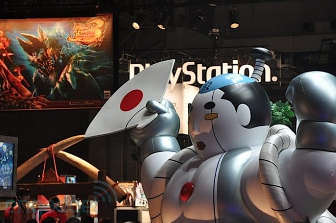 We're live from TGS 2010 in Tokyo!