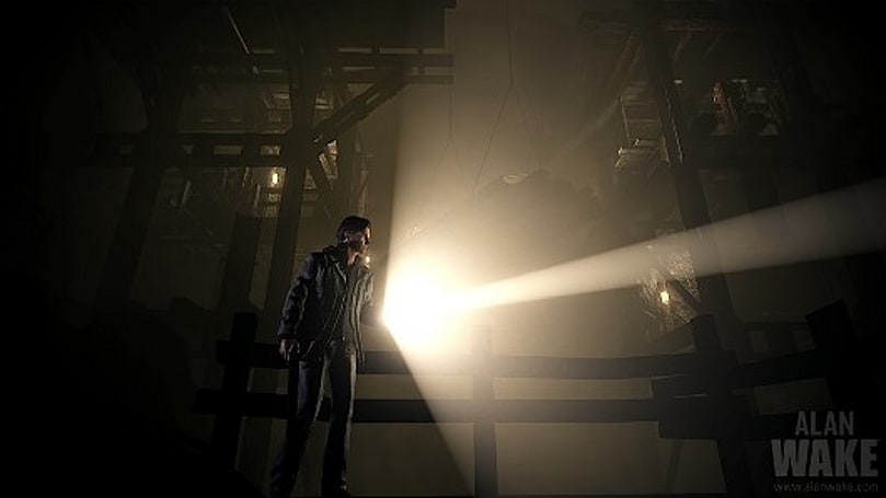 Alan Wake busts into box form on April 3 in North America