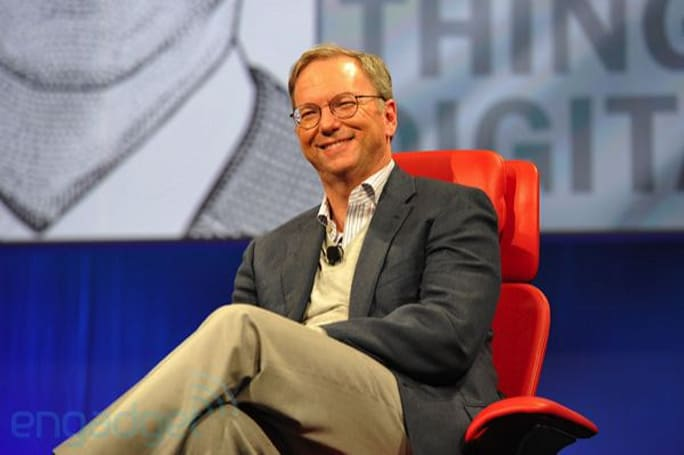 CE-Oh no he didn't!: Google's Eric Schmidt says competitors are 'responding with lawsuits' instead of innovation
