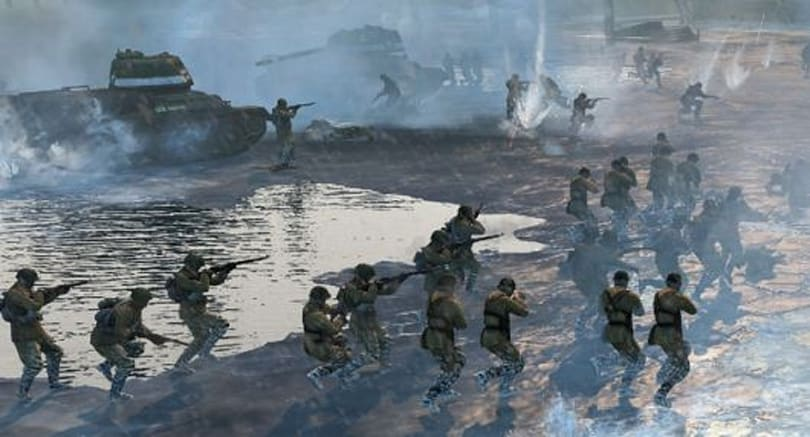 Keeping your eyes open in the cold of Company of Heroes 2