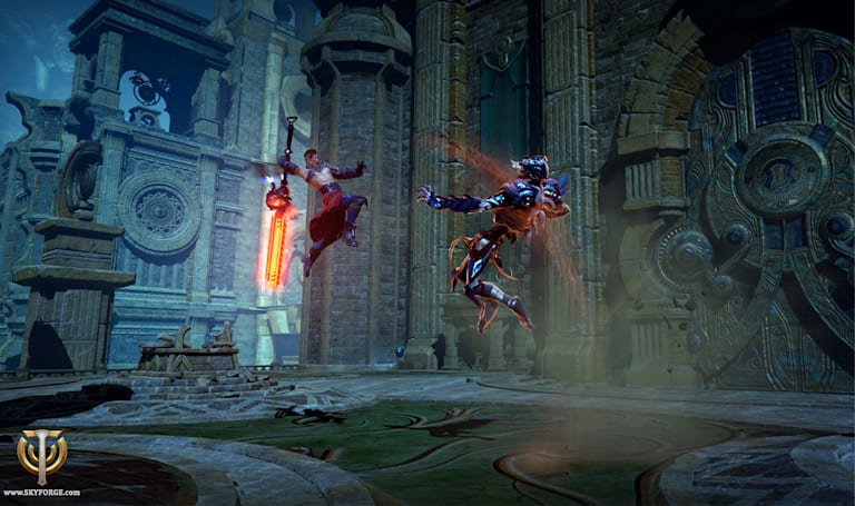 Obsidian explains Skyforge's class-swapping system