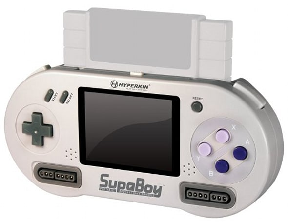 Now you can play SNES while crossing busy streets with SupaBoy