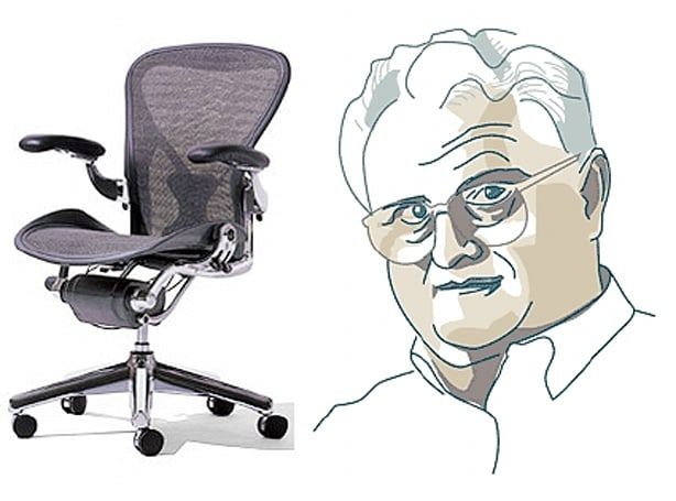 Bill Stumpf, creator of the Aeron chair, passes away at 70