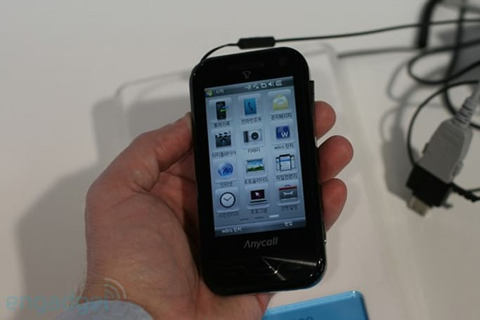 Samsung SCH-M830 hands-on