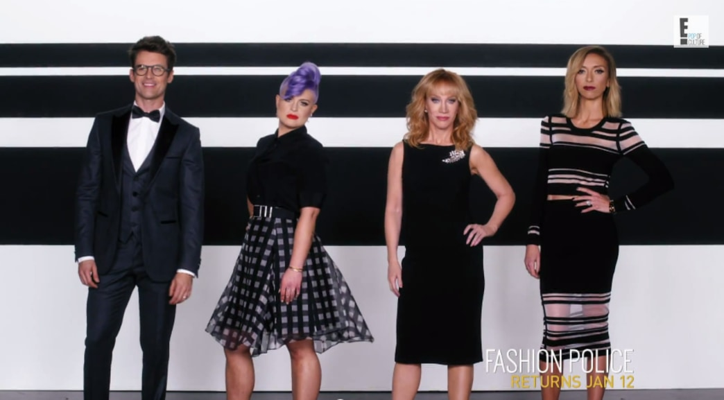 'Fashion Police': Kathy Griffin gets sassy with new cast - watch teaser