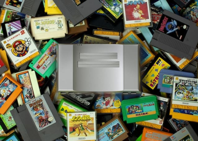 The aluminum Nintendo Entertainment System is custom built inside and out