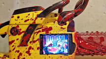 Play 'Doom II' on a Raspberry Pi-powered Painsaw