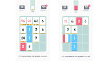 The original number-pushing puzzle game, 'Threes,' goes free