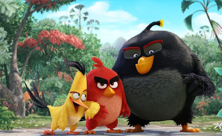 Watch the first trailer for 'The Angry Birds Movie'
