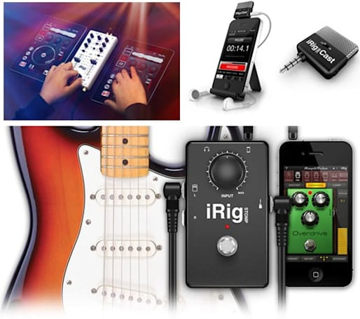 IK Multimedia reveals trio of iRig iOS accessories for mobile podcasting and music making