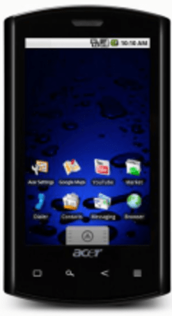 Acer Liquid now available in black, only wants Queen's money