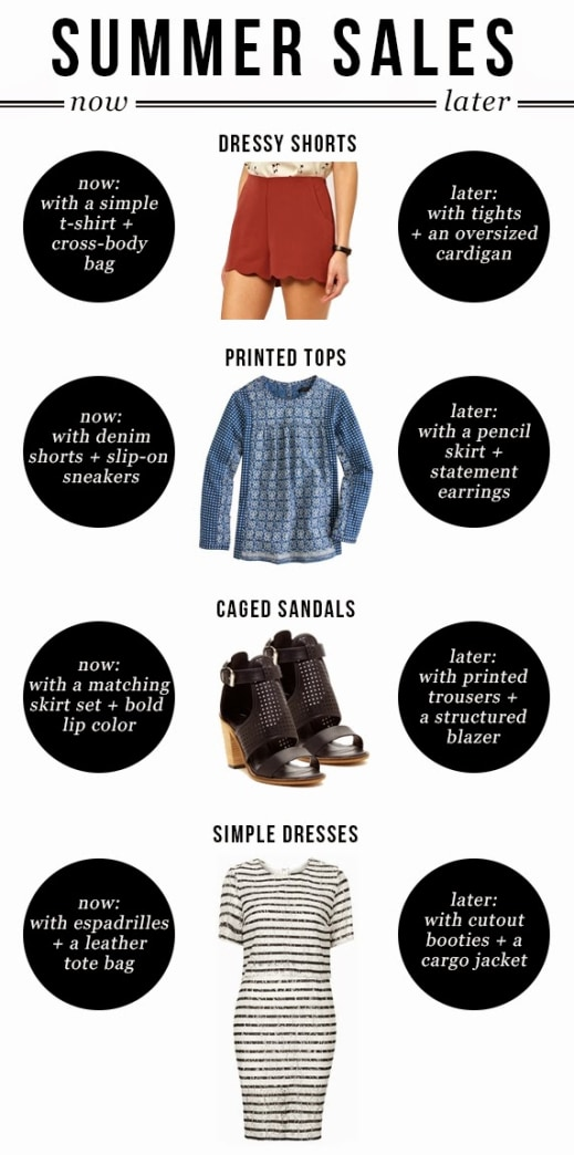 Tips for shopping summer sales