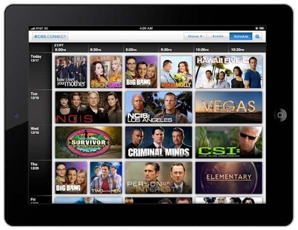CBS Connect endows NCIS, CSI and Hawaii Five-O with second screen interactivity for iPad