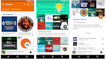 Podcasts are now available in Google Play Music