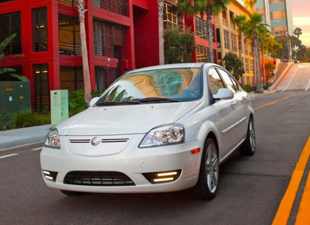 Coda sedan EV hits California dealerships, spreads semi-frugal greenness