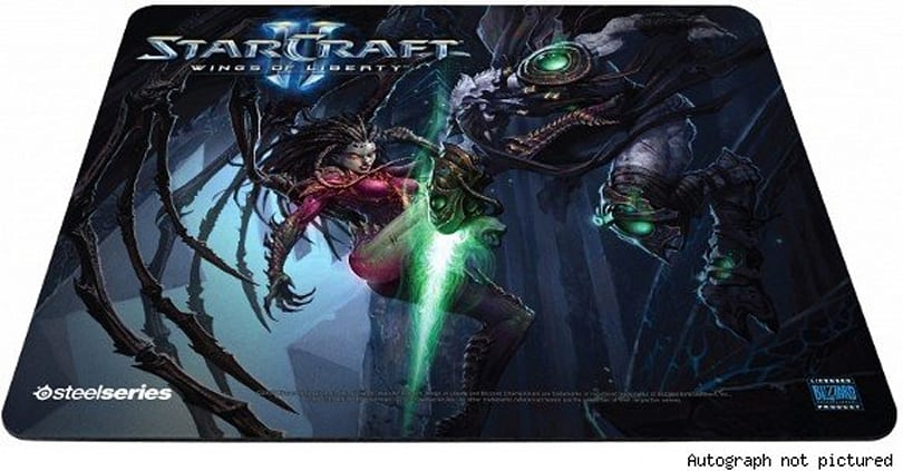 SteelSeries giving away autographed Starcraft II mouse pads