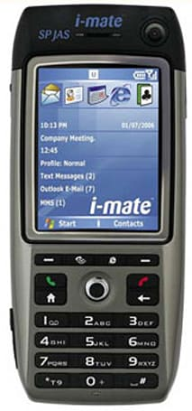 "i-mate gets HTC Breeze as ""SP JAS"""