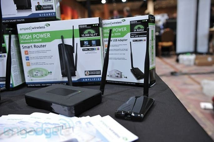Amped Wireless' new super-range WiFi gear unveiled at CES