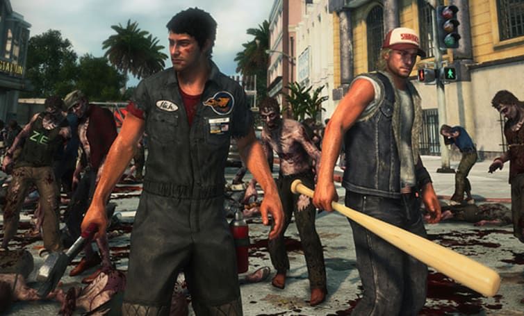 Friends unite and take down psychos in Dead Rising 3