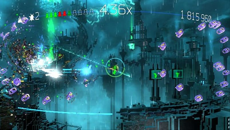 Resogun saves the last humans on PS3, Vita this month