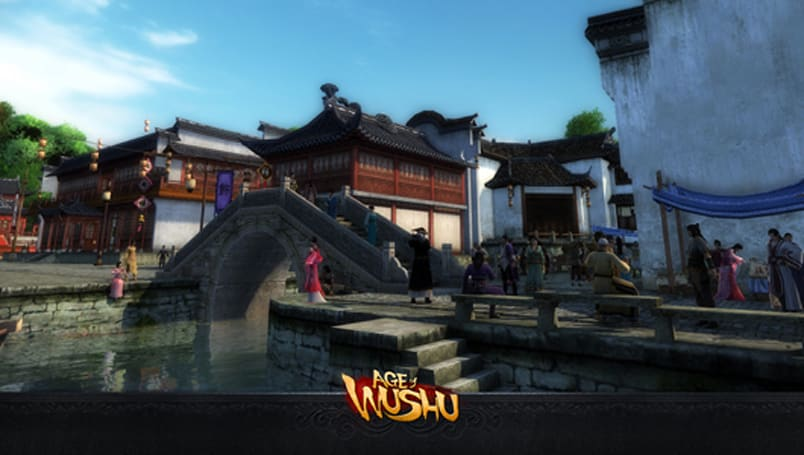 Age of Wushu on Steam today