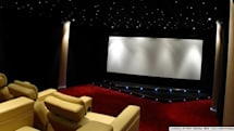 Screen Excellence's Enlightor projection screen is 4k ready and acoustically transparent