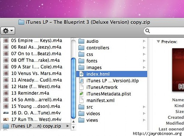 Inside the new iTunes LP format